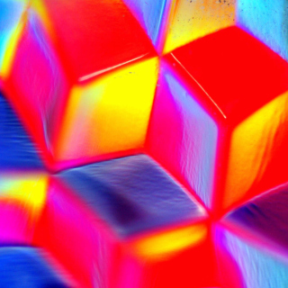 Colorful Cubes 3D - Obrázkek zdarma pro iPad 2