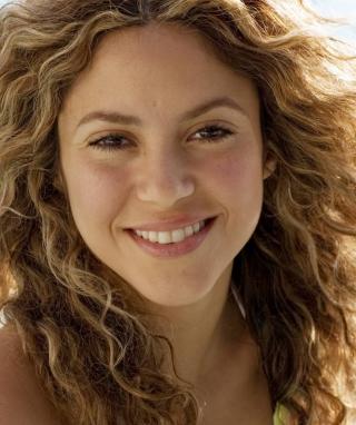 Cute Curly Shakira - Obrázkek zdarma pro 128x160