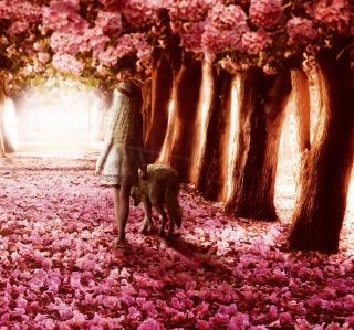 Flower Forest - Obrázkek zdarma pro 1024x1024