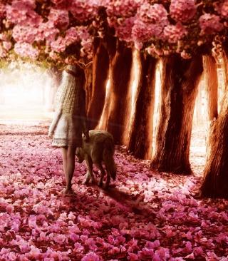 Flower Forest - Obrázkek zdarma pro Nokia Asha 502