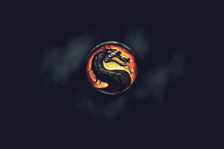 Mortal Kombat Logo Picture for Android, iPhone and iPad