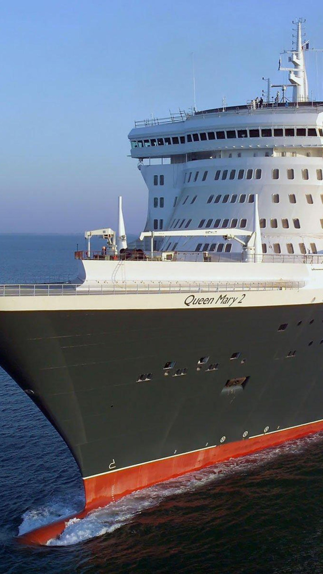 Корабль Queen Mary 2  № 3495276  скачать