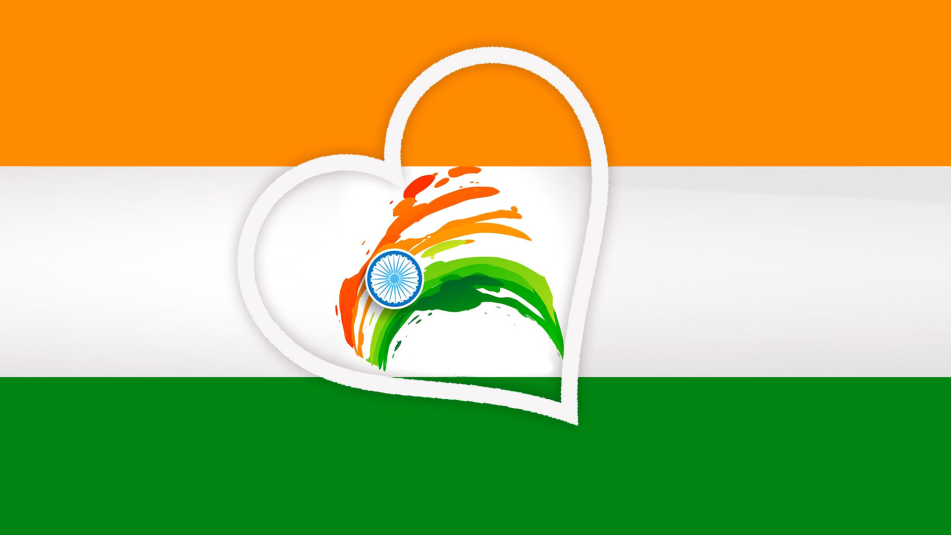 India Flag Hd 1920 X 1080: Happy Independence Day Of India Flag