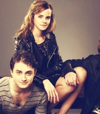 Emma Watson - Obrázkek zdarma pro Nokia 5233