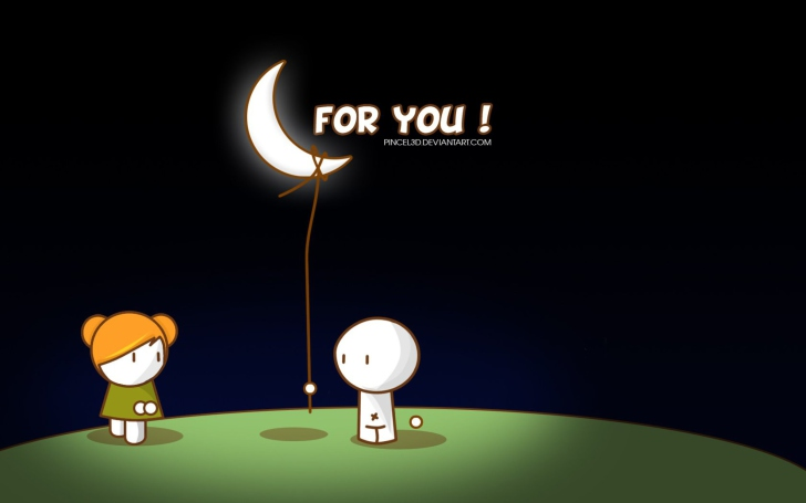 Moon For You wallpaper
