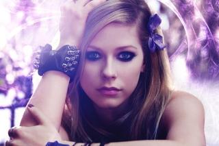 Avril Lavigne Portrait - Obrázkek zdarma pro Nokia C3