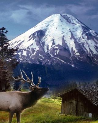 Big Elk - Obrázkek zdarma pro 132x176