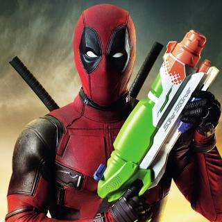 Deadpool - Obrázkek zdarma pro 2048x2048