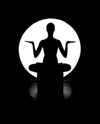 Moonlight Yoga - Obrázkek zdarma pro Nokia 300 Asha