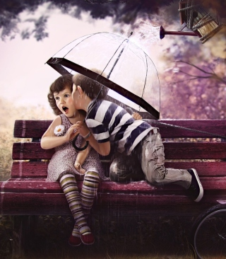 Baby Love - Obrázkek zdarma pro 352x416