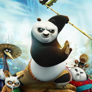 Kung Fu Panda 3 - Obrázkek zdarma pro iPad 2