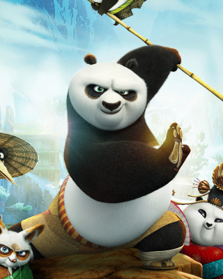 Kung Fu Panda 3 - Obrázkek zdarma pro 240x432