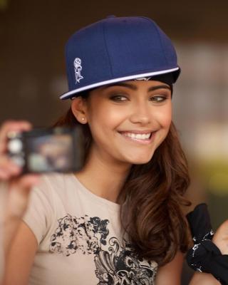 Selfie Hip-Hop Girl - Obrázkek zdarma pro 132x176
