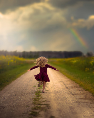 Child Good Mood - Obrázkek zdarma pro iPhone 4S