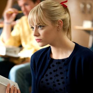 Emma Stone in Spider Man - Obrázkek zdarma pro 1024x1024