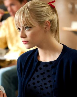 Emma Stone in Spider Man - Obrázkek zdarma pro Nokia C5-05