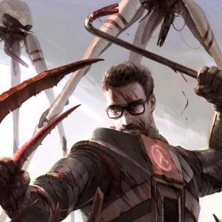 Gordon Freeman in Half Life Game - Obrázkek zdarma pro 2048x2048