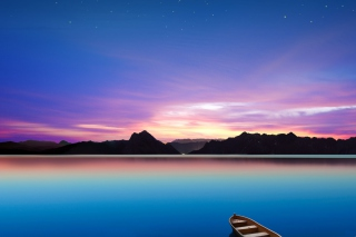 Still Lake Background for Android, iPhone and iPad