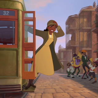 The Princess and The Frog - Obrázkek zdarma pro iPad Air