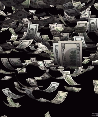 Dollars Cash - Obrázkek zdarma pro 240x400