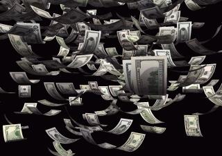 Dollars Cash - Obrázkek zdarma pro 480x400