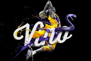 Kobe Bryant - Obrázkek zdarma pro 1280x800