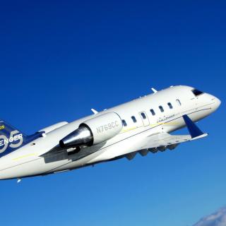 Bombardier Challenger 605, Aviation - Obrázkek zdarma pro 208x208