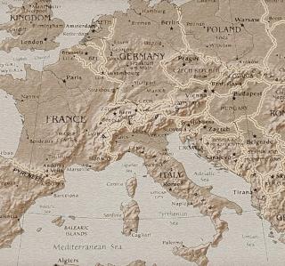 Map Of Europe - Obrázkek zdarma pro iPad mini 2