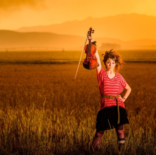 Violin Girl - Obrázkek zdarma pro 2048x2048