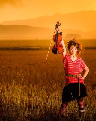 Violin Girl - Obrázkek zdarma pro Nokia C3-01 Gold Edition