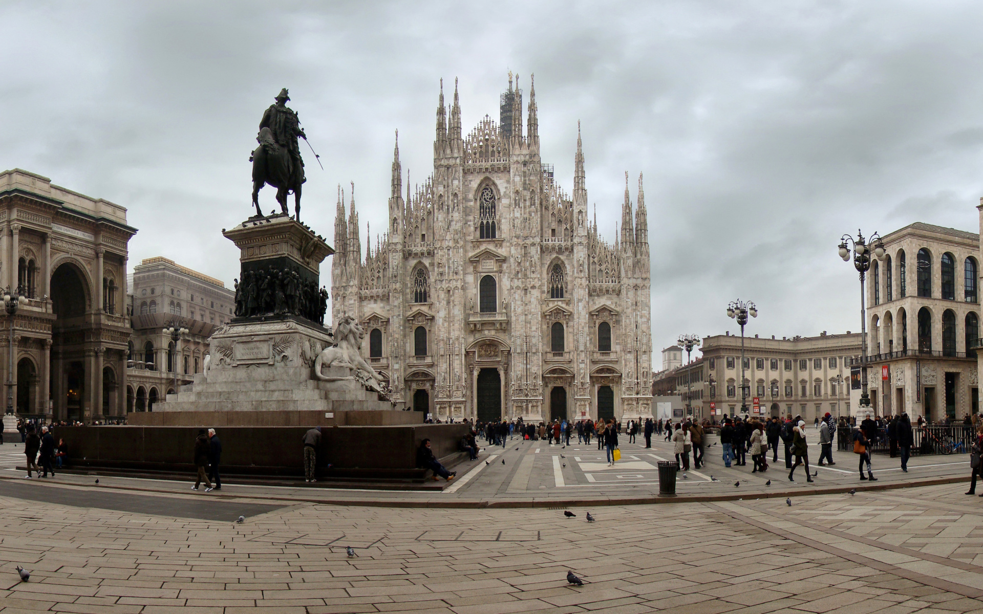 Milan cathedral duomo di milano sfondi gratuiti per for Sfondi milan hd