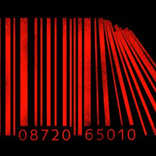 Minimalism Barcode - Obrázkek zdarma pro iPad mini 2
