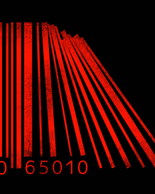 Minimalism Barcode - Obrázkek zdarma pro 240x320