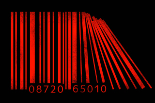 Minimalism Barcode - Obrázkek zdarma pro Samsung Galaxy Note 2 N7100