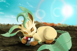 Leafeon Pokemon Wallpaper for Android, iPhone and iPad
