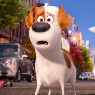 The Secret Life of Pets, Max and Snowball - Obrázkek zdarma pro 2048x2048