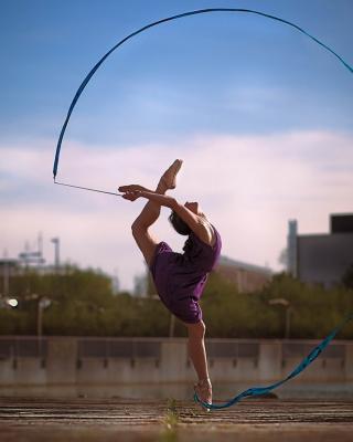 Beautiful Gymnastics - Obrázkek zdarma pro Nokia 300 Asha