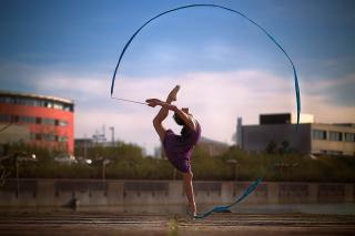 Beautiful Gymnastics - Obrázkek zdarma pro Android 800x1280