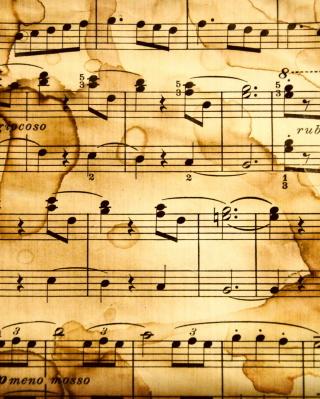 Musical Notes - Obrázkek zdarma pro Nokia X6