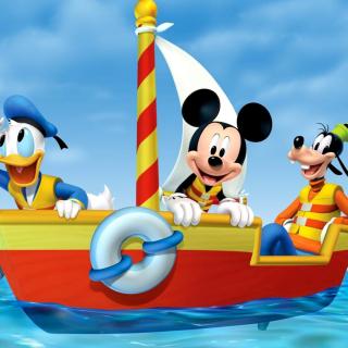 Mickey Mouse Clubhouse - Obrázkek zdarma pro 128x128