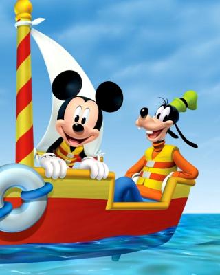Mickey Mouse Clubhouse - Obrázkek zdarma pro Nokia Asha 303
