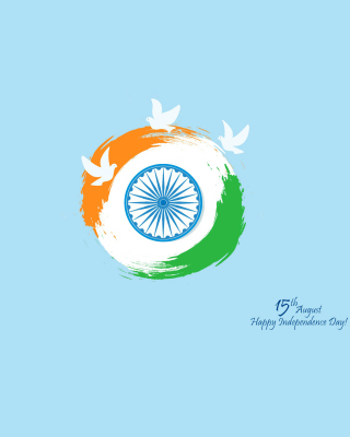 15th August Indian Independence Day - Obrázkek zdarma pro 360x640