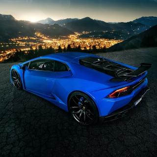 Lamborghini Huracan - Obrázkek zdarma pro iPad 3