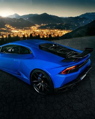 Lamborghini Huracan - Obrázkek zdarma pro Nokia C2-05