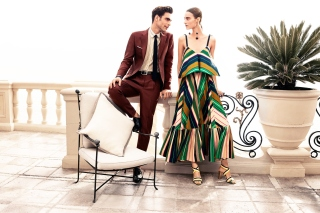 Salvatore Ferragamo Summer Fashion Background for Android, iPhone and iPad