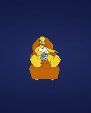 Homer Simpsons - Obrázkek zdarma pro 640x1136