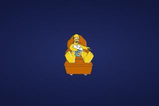 Homer Simpsons - Obrázkek zdarma pro Samsung Galaxy A3