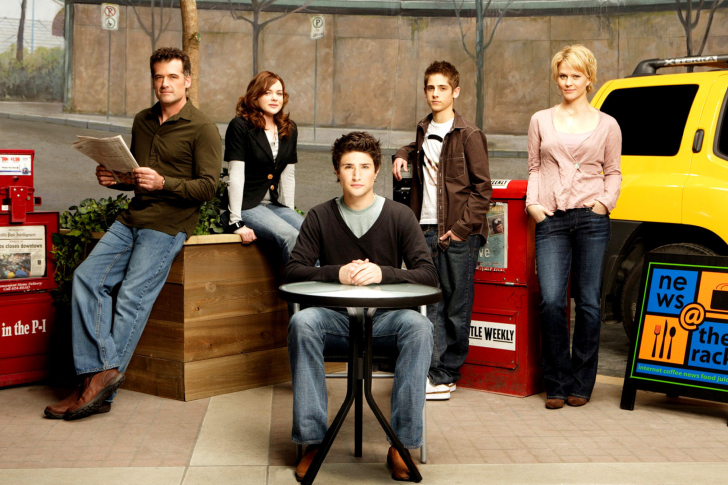 Kyle XY with Jean Luc Bilodeau wallpaper