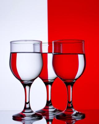 Red White Stemwares - Obrázkek zdarma pro iPhone 6 Plus
