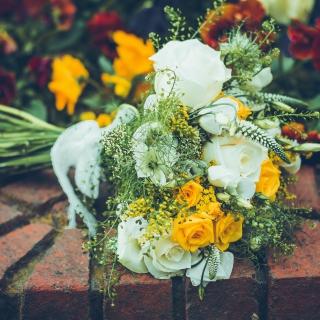 Bridal Bouquet - Obrázkek zdarma pro iPad 3
